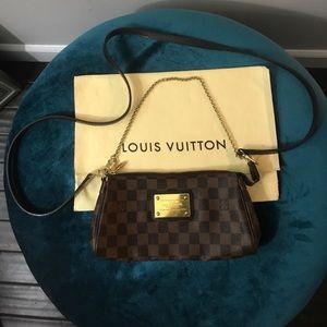 Authentic Louis Vuitton Eva Cross Body